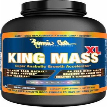 Ronnie Coleman Signature Series King Mass XL Strawberry Milkshake - 15 LBS