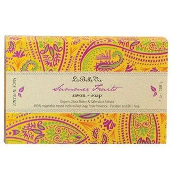 La Belle Vie, Summer Fruit Bar Soap, 7 Oz