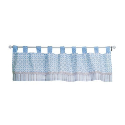 Trend Lab Logan Window Valance, Blue