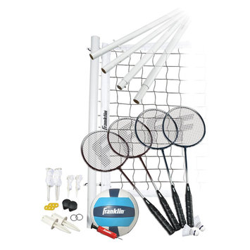 Franklin Sports Advance Badminton & Volleyball Set