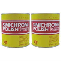 Simichrome CAN-1000G-2 Pack 35.27 oz Metal Polish Can