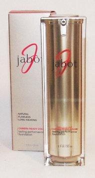 Jabot Camera Ready Color Lasting Performance Foundation -Warm Caramel Medium Dark- 1 OZ / 30 ML