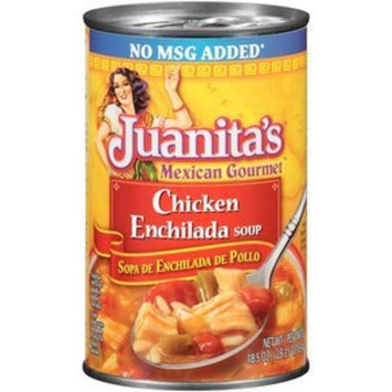 Juanita's, Mexican Gourmet, Chicken Enchillada Soup, 18.5oz Can (Pack of 6)