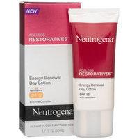 neutrogena® Ageless Restoratives Energy Renewal Day Lotion, SPF 15