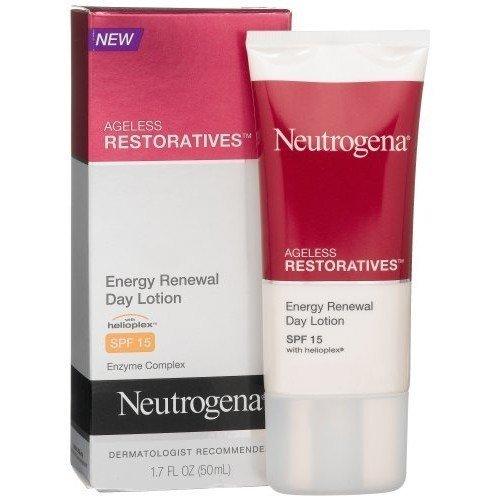 Neutrogena Ageless Restoratives Energy Renewal Day Lotion, SPF 15, 1.7 Ounce