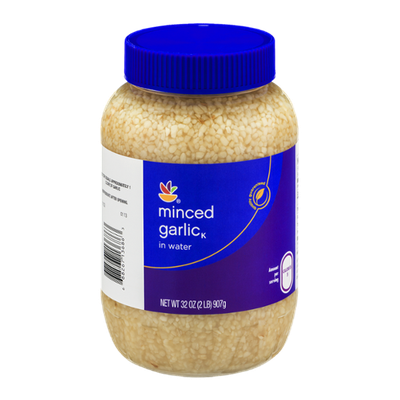 Ahold Minced Garlic in Water
