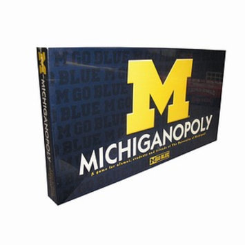 Michigan-opoly Monopoly Game Ages 8+