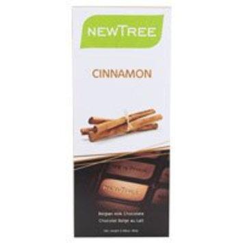 Newtree Tree Belgian Milk Chocolate Bar Cinnamon -- 2.82 oz