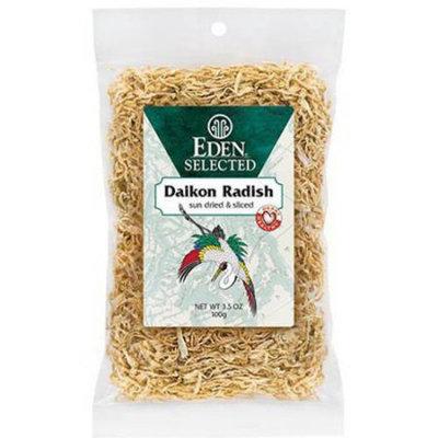 Eden Organic Eden Daikon - sun dried & sliced, 3.5 Ounce (Pack of 6)