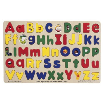 Melissa and Doug Upper & Lowercase Alphabet Ages 4+