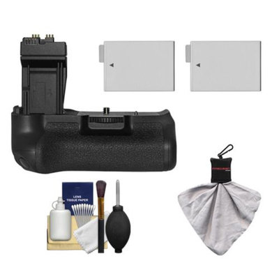 Zeikos BG-E8 Battery Grip for Canon EOS Rebel T2i, T3i, T4i & T5i Digital SLR Camera with 2 LP-E8 Batteries + Accessory Kit