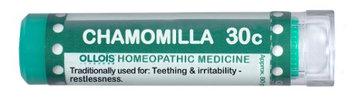 Ollois Homeopathic Medicine - Chamomilla 30 C - 80 Pellets