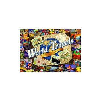 Buffalo Games Nostalgia: World Travel Jigsaw Puzzle (500-Piece)