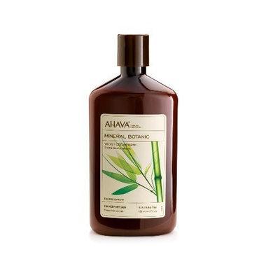 AHAVA Mineral Botanic Velvet Cream Wash, Bamboo and Pansy, 17 fl. oz.