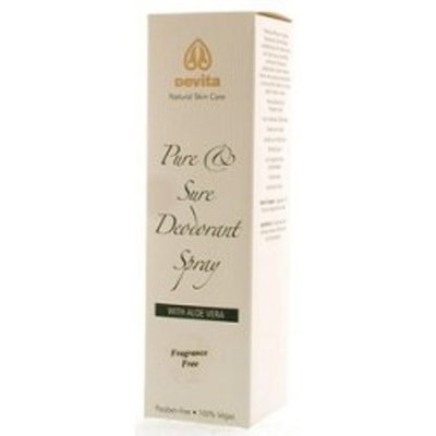 DeVita Professional Skin Care Absolute Minerals - Devita Skin Care - Skin Care - Pure & Sure Unscented Deodorant 4 oz - Hand & Body Products