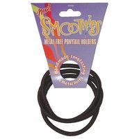 Smoothies Elastics Smoothies Metal-Free Hair Elastic-Brown/Black (32265)