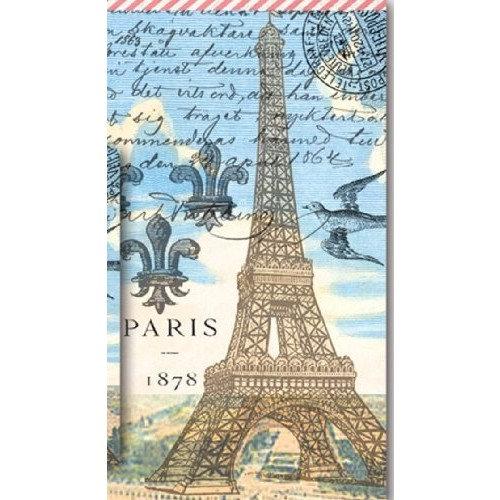 Michel Design Works Paris Hostess Napkin, Package of 16, 3-Ply