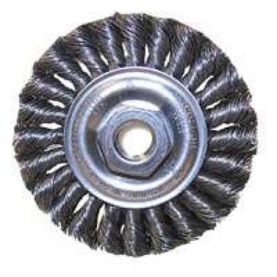 Us Forge 1108 6X5/8X11 Knotwire Wheel Brush
