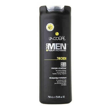 La Coupe For Men Thicken 2in1 Shampoo + Conditioner, 25.4 fl oz