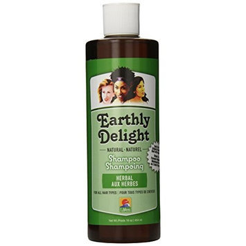 Earthly Delight Herbal Shampoo, 16 Ounce