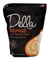 Della LT BRWN RCE, BASMATI, (Pack of 6)