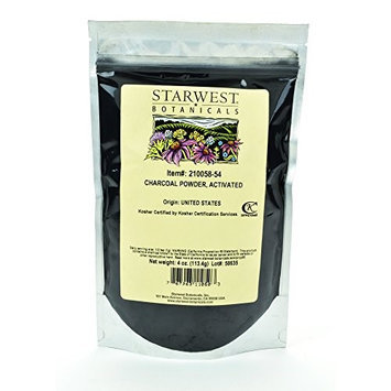 Starwest Botanicals Charcoal Powder (Activated)