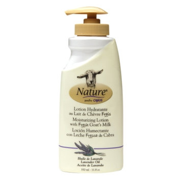 Nature by Canus Moisturizing Lotion with Fresh Goat's Milk, Lavender Oil, 11.8 oz