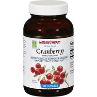 Nature's Herbs Whole Fruit Cranberry Capsules