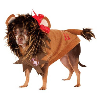 Wizards of the Coast Wizard of Oz Cowardly Lion Pet Costume - Small