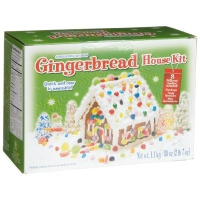 Cobblestone Kitchens Cobblestone Kitchen Gingerbread House Kit, 39-Ounce Kits (Pack of 2)