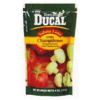 Ducal Tomatina With Mushrooms 4 oz - Tomatina Con Champinones