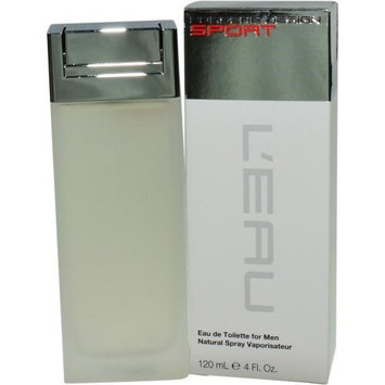 Porsche Design Sport L'eau Men's 4-ounce Eau de Toilette Spray