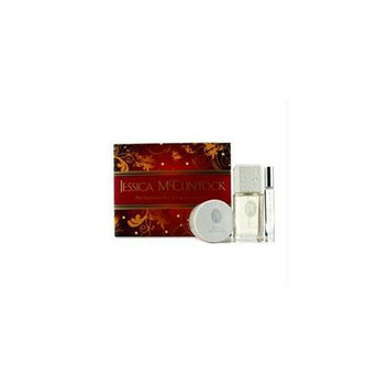 Jessica Mcclintock 15244125314 Romantic Treasure Coffret: Eau De Parfum Spray 100ml-3. 4oz + Body Cream 99g-3. 5oz + Edp R