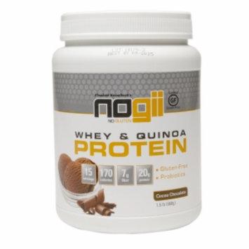 Nogii Whey & Quinoa Protein Powder, Cocoa Chocolate, 1.5 LB