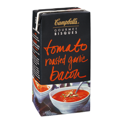 Campbell's® Gourmet Bisques Tomato Roasted Garlic Bacon