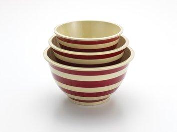 Meyer Corp. Paula Deen 3-pc. Signature Mixing Bowl Set, Red