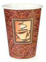 DIXIE 2338DJ Disposable Hot Cup,8 oz, Brown, PK1000