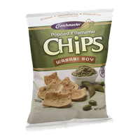 Crunchmaster Popped Edamame Chips Wasabi Soy