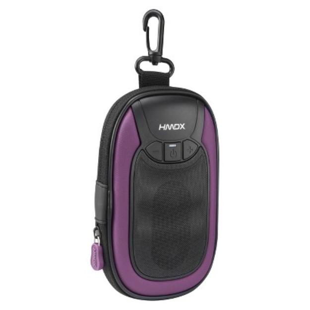 HDMX HMDX GO Wireless Portable Speaker - Purple (HX-GO4PU)