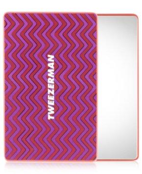 Tweezerman Unbreakable Mirror Pink/Red 3 1/2