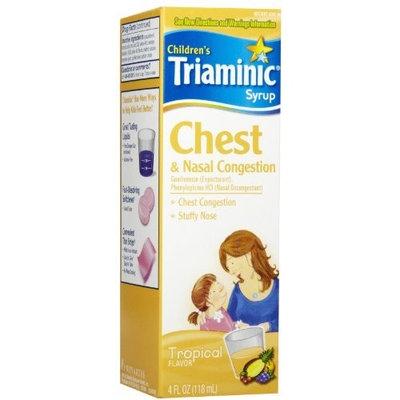 Triaminic Chest & Nasal Congestion Liquid-4oz