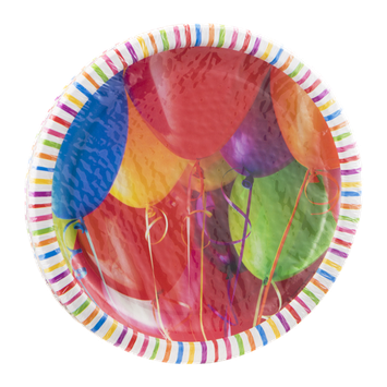Hallmark Party Plates Birthday Balloons