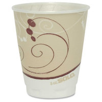 Solo Inc. Foam Cups Solo Design Trophy Foam Hot/Cold Drink Cups, 8 oz.