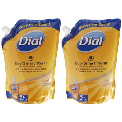 Dial Liquid Soap Pouch Refill Gold, Size - 40 Oz