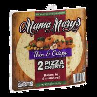 Mama Mary's Pizza Crustes Thin & Crispy - 2 CT