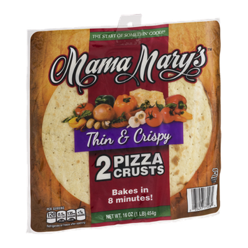Mama Mary's Pizza Crustes Thin & Crispy - 2 CT