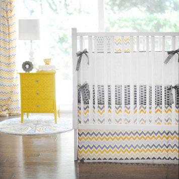 New Arrivals Mellow Yellow 3 Piece Crib Bedding Set