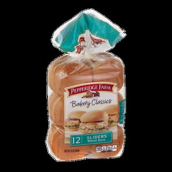 Pepperidge Farm Bakery Classics Slider Buns Wheat - 12 CT