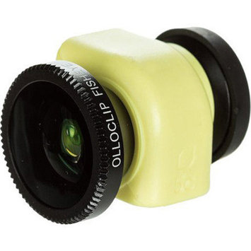 olloclip 3-in-1 for Apple iPhone 5C, Black/Yellow