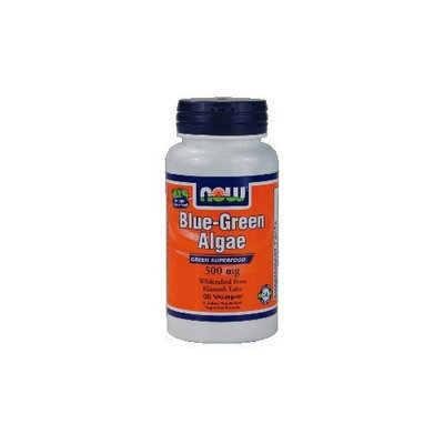 Now Foods Blue-Green Algae 500 mg - 90 Vcaps ( Multi-Pack)